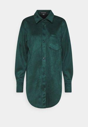 OVERSIZE  - Button-down blouse - jade