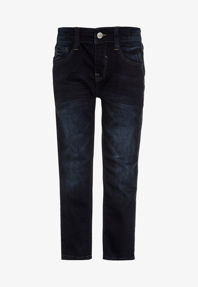 HOSE - Straight leg jeans - blue denim