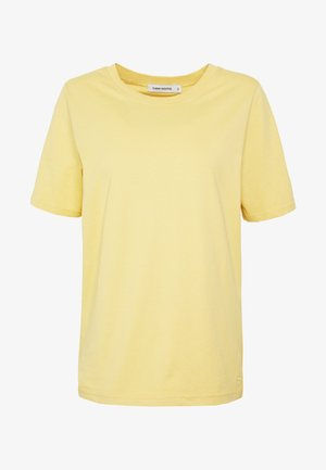 SAFFI - Basic T-shirt - yellow