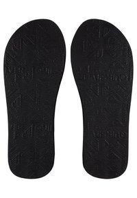 Quiksilver - T-bar sandals - black/grey/brown - 2