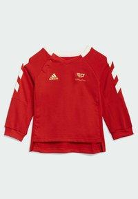 adidas Performance - SALAH URBAN LEAGUE JOGGER SET - Trainingspak - red - 1