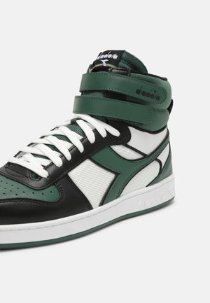 MAGIC MID ICONA UNISEX - High-top trainers - white/dark green