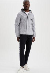 DeFacto - Waterproof jacket - grey - 1