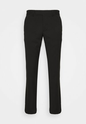 GRANT MICRO STRUCTURE PANTS - Trousers - black