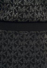 MICHAEL Michael Kors - SKIRT - Pencil skirt - black/silver - 5
