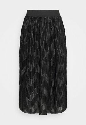 JDYMACI PLEATED SKIRT - Plisovaná sukně - black