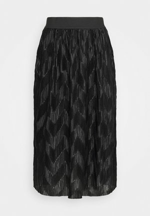 JDYMACI PLEATED SKIRT - Pleated skirt - black