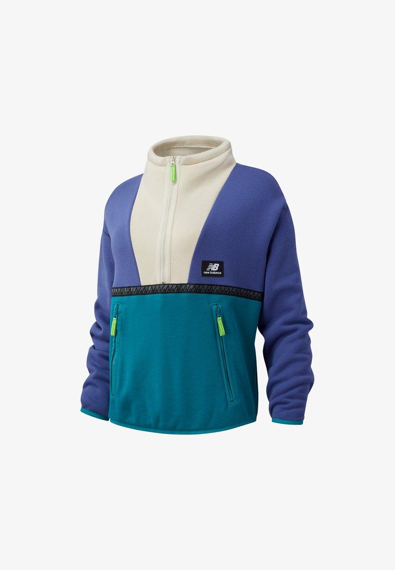 New Balance - Sweatshirt - magnetic blue