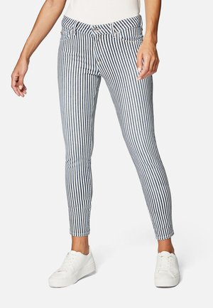 NICOLE - Jeans Skinny Fit - soft stripe spring str