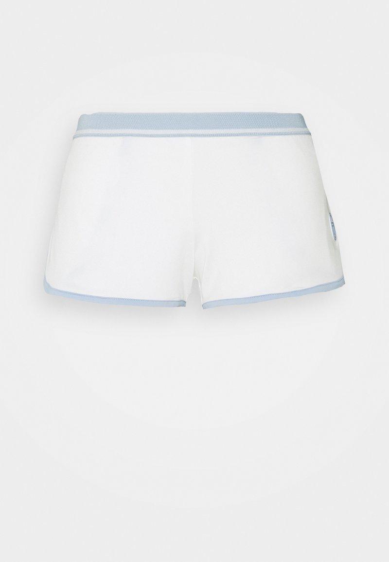 Sergio Tacchini - SHORTS WOMAN - Sportovní kraťasy - blanc de blanc/kentucky blue