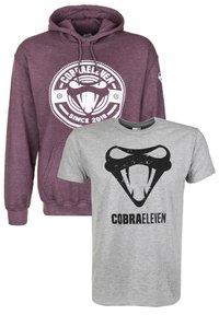 COBRAELEVEN - SET BY ERDOGAN ATALAY - Hoodie - grey - 0