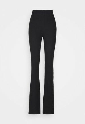 NMPASA FLARED PANTS TALL - Bukse - black