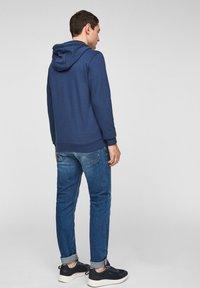s.Oliver - FELPA - Sweat à capuche zippé - blue - 2
