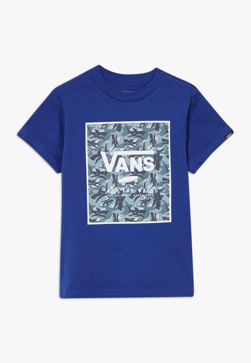 Vans - PRINT BOX KIDS - T-shirt con stampa - sodalite blue