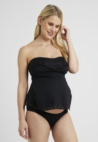 Cache Coeur - BLOOM SET - Bikini - black - 3