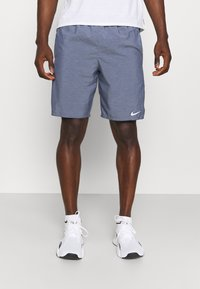 Nike Performance - CHALLENGER SHORT - Sports shorts - obsidian heather/silver - 0