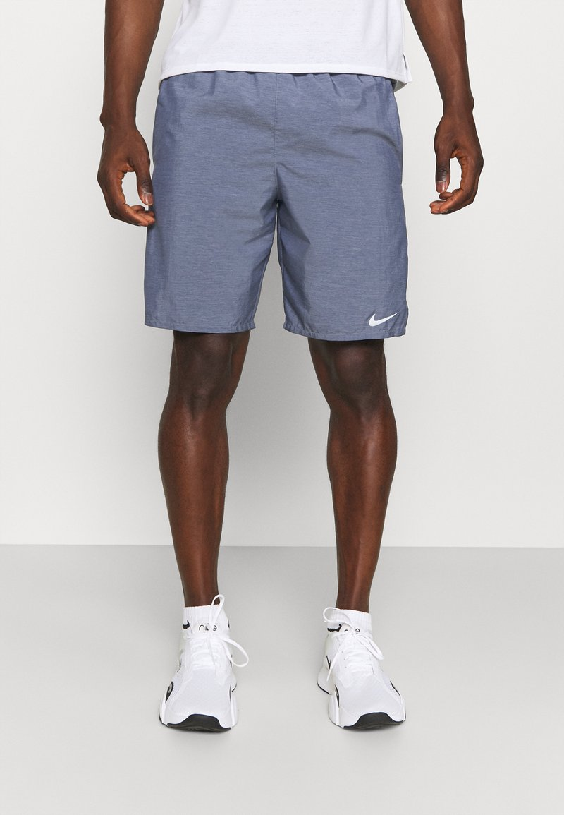 Nike Performance - CHALLENGER SHORT - Sports shorts - obsidian heather/silver