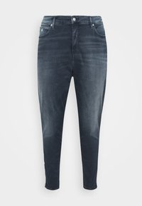 Calvin Klein Jeans Plus - HIGH RISE SKINNY ANKLE - Jeans Tapered Fit - blue denim - 3