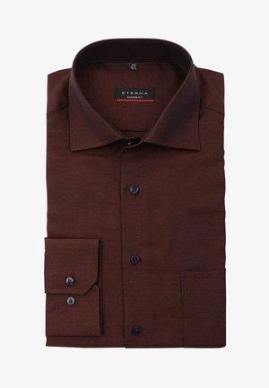 MODERN SLA M BLAU  - Formal shirt - braun