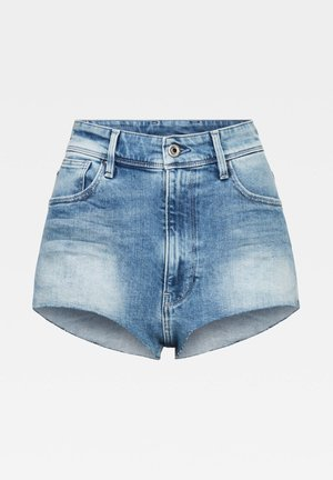 KAFEY ULTRA  - Denim shorts - sun faded azurite