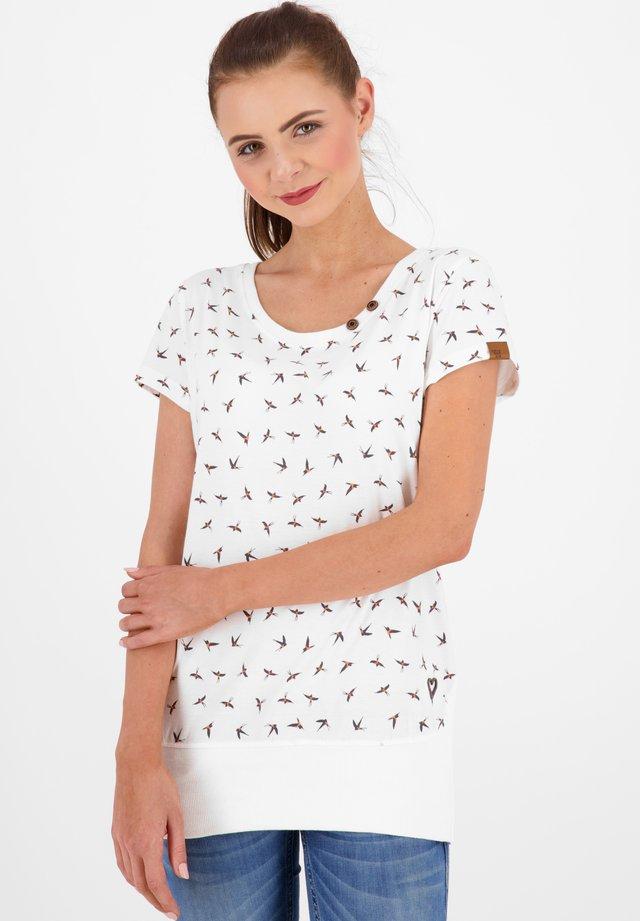 COCOAK - T-shirt print - white