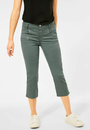 CASUAL FIT - Trousers - grün