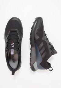 adidas Performance - TERREX CMTK GORE TEX - Trail running shoes - core black/grey three - 1