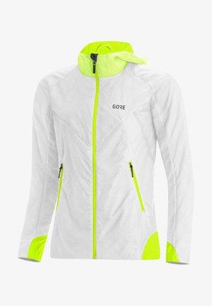 Training jacket - weiss / gelb