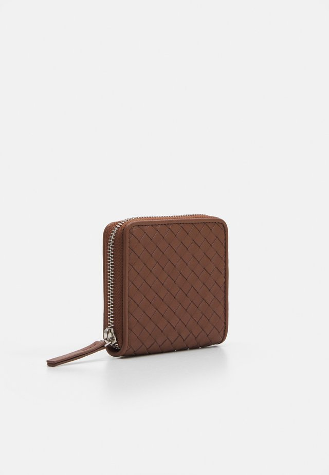 SHORT WALLET UNISEX - Lommebok - tan