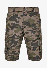 Southpole - BELTED CAMO CARGO - Shorts - woodland - 6