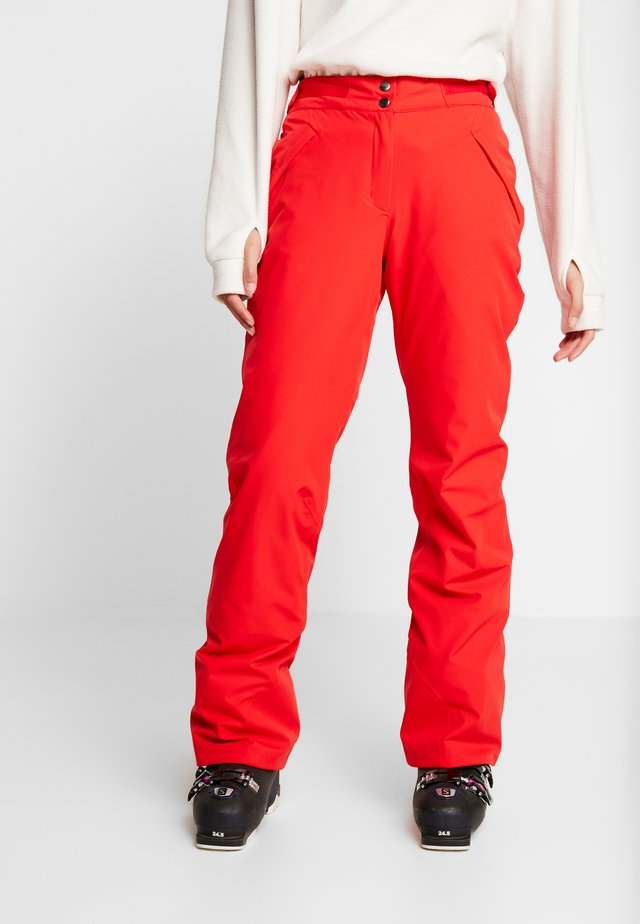 SIERRA PANTS - Talvihousut - red