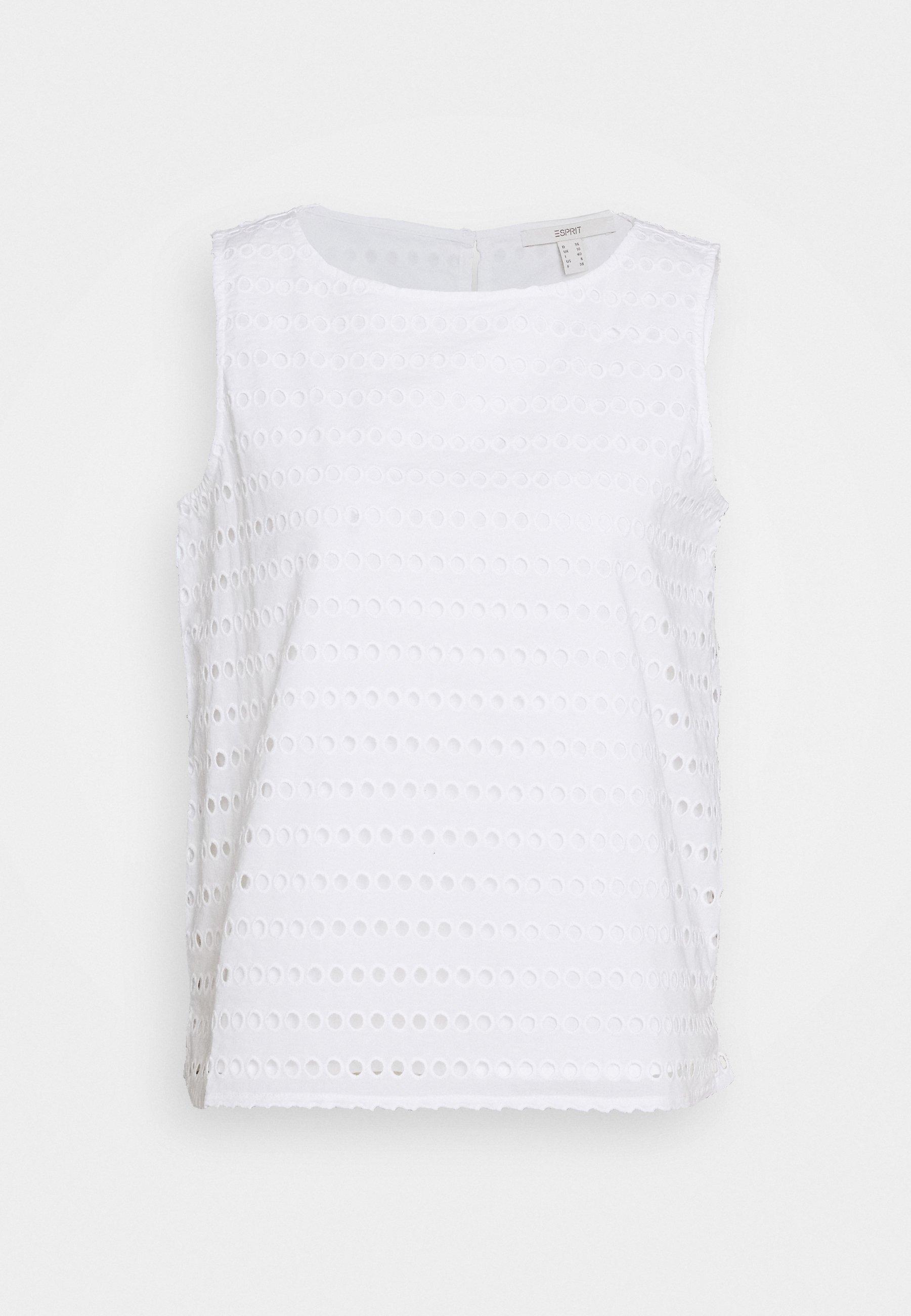 Esprit Bluser - White/hvit