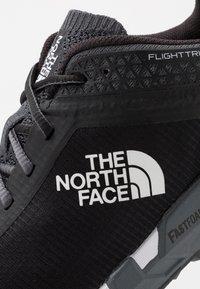 The North Face - FLIGHT TRINITY - Trail running shoes - dark shadow grey/black - 5
