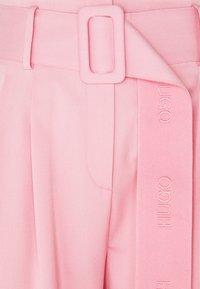 HUGO - HUGESA - Kalhoty - bright pink - 2