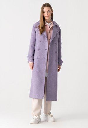 Classic coat - purple