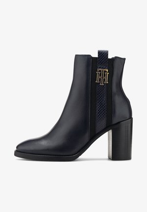 TH INTERLOCK  - Classic ankle boots - dunkelblau