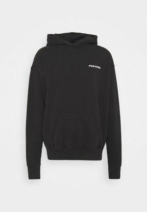 LOGO HOODIE UNISEX - Sweatshirt - washed black