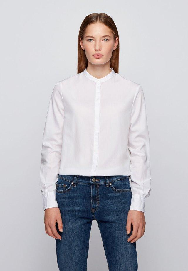 BEFELIZE - Button-down blouse - white