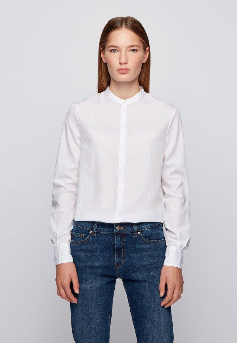 BOSS - BEFELIZE - Button-down blouse - white