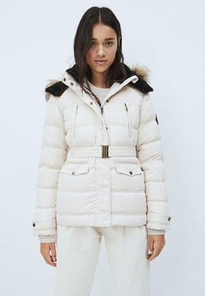 ALMAH - Down jacket - buttermilk