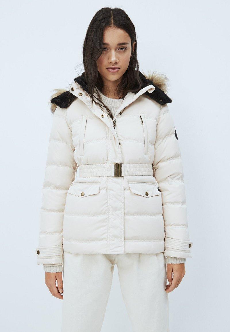 Pepe Jeans - ALMAH - Down jacket - buttermilk