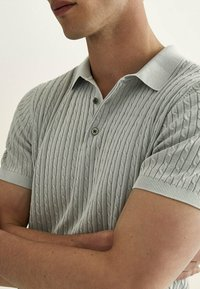 Massimo Dutti - Polo shirt - light grey - 2