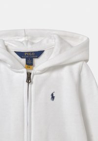 Polo Ralph Lauren - HOODIE - veste en sweat zippée - white - 2