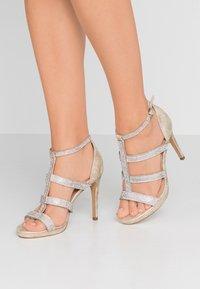 Paradox London Pink - RAVEN - High heeled sandals - champagne - 0