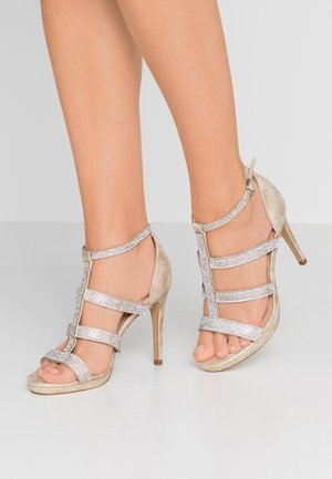 RAVEN - High heeled sandals - champagne