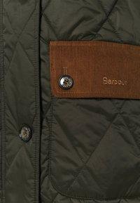 Barbour - MICKLEY QUILT - Classic coat - sage/ancient - 3