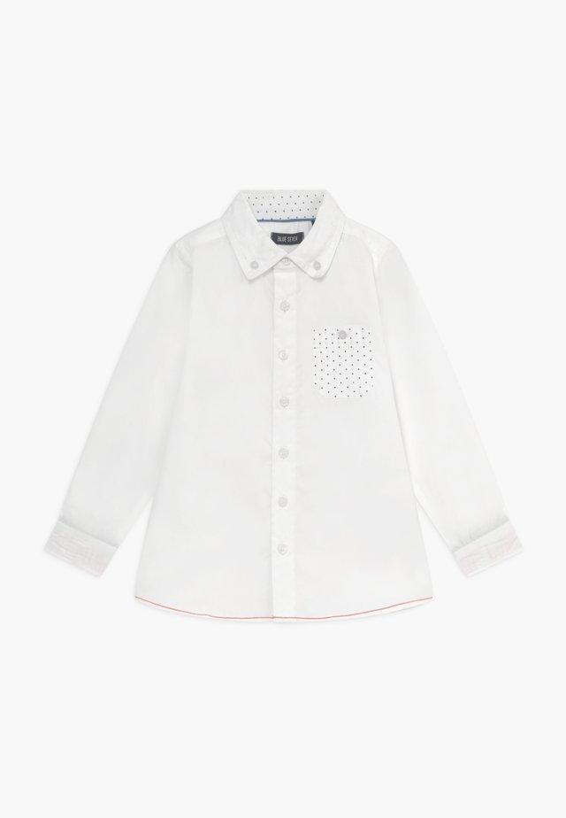 KIDS CUFF DETAIL - Skjorter - weiss