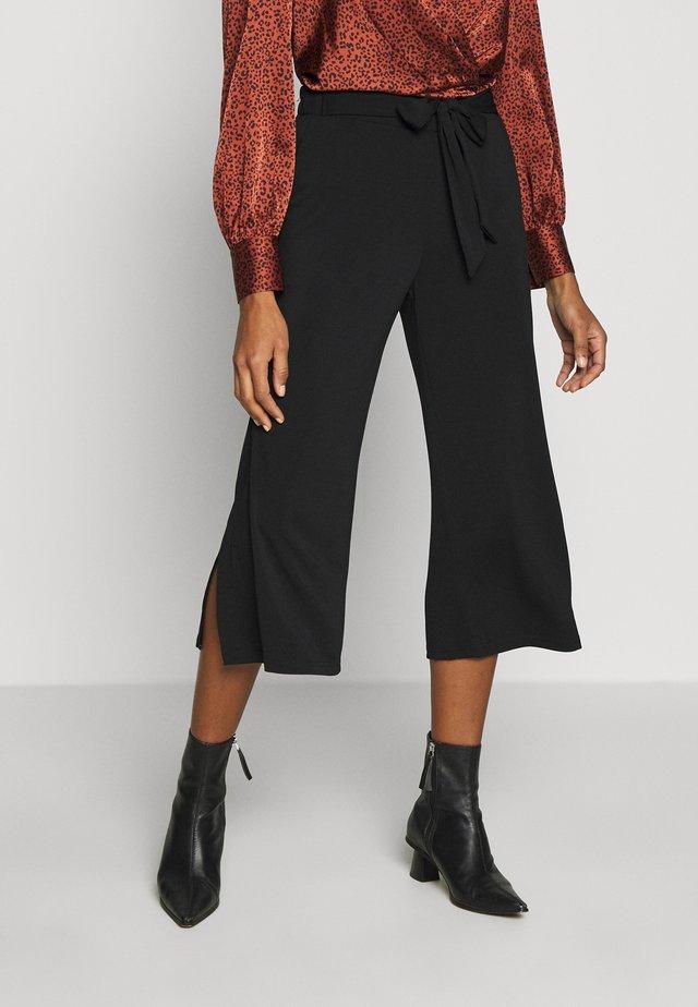 KAMALLI PANTS - Trousers - black deep
