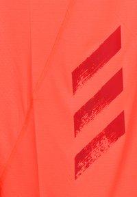 adidas Performance - ADIDAS PERFORMANCE HEAT.RDY LAUFSHIRT HERREN - T-shirt print - solar red - 2