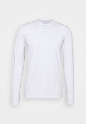 REACT GRANDAD SOLID - Shirt - white
